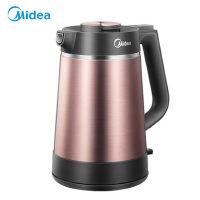 Midea/美的电热水壶电水壶烧水壶热1.5L真空保温304不锈钢VJ1502a