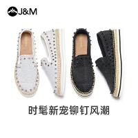 jm快�番���2020秋季新款潮�T�松糕一�_蹬厚底帆布鞋�O夫女鞋