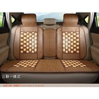 汽车坐垫夏季竹片麻将凉垫单片面包车货车通用座套凉席