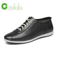 红蜻蜓旗下品牌COOLALA女鞋秋冬皮鞋鞋子女HTB6823