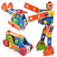 小孩子玩具�Y物 �和�早教�邮忠嬷锹菽覆鹧b男女孩智力拆卸螺�z�M�b�Q螺�z�玩具