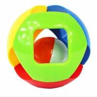 贝乐康五彩感官球铃铛球婴儿手抓球宝宝玩具儿童益智叮当球0-1岁