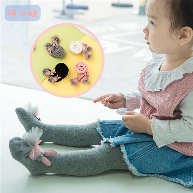 女童打底裤春秋冬季婴儿加厚加绒连裤袜大PP保暖宝宝连体袜子
