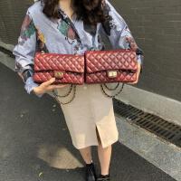 包包女新款小香风女包 菱格链条包单肩斜跨包经典百搭ins包包