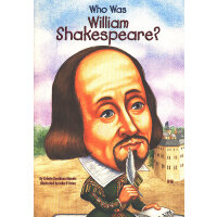 Who Was William Shakespeare? 漫画名人传记:莎士比亚 ISBN9780448439044