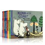 英文原版 小肥肥姆明一族7册合售 Moomin and the Martians 穆明和火星人/on the Rivi