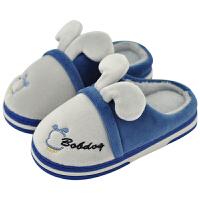 儿童棉拖鞋男童冬季室内小孩居家防滑女童家用男孩