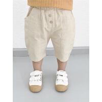 童装男童休闲裤男宝宝夏装短裤儿童裤子夏薄款