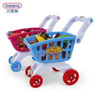 恩施儿童女孩玩具购物车过家家宝宝迷你厨房套装超市推车3-6岁