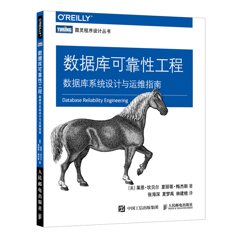 数据库可靠性工程 数据库系统设计与运维指南 PDF下载